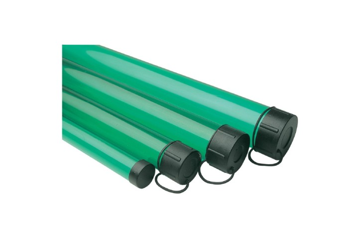 Leeda Rod Tube Green 6ft x 2.5 Inch