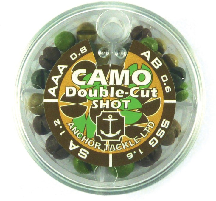 Anchor Tackle Camo Double Shot 4 Division
