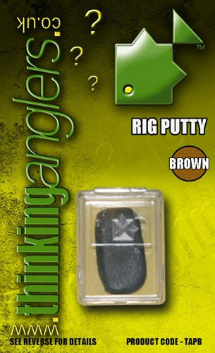 Thinking Anglers Rig Putty in Brown