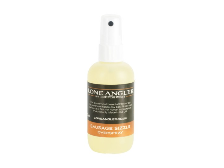 Lone Angler Sausage Sizzle Overspray 100ml