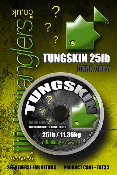 Thinking Anglers Tungskin Hooklength in dark-grey