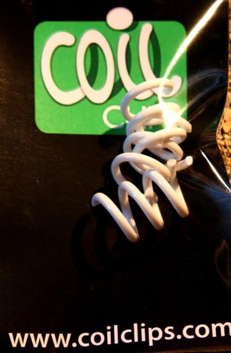 CoilClip in White