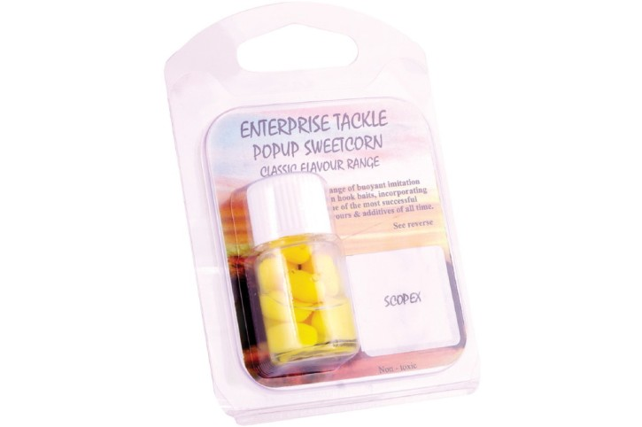 Enterprise Tackle Pop Up Corn Yellow, Scopex