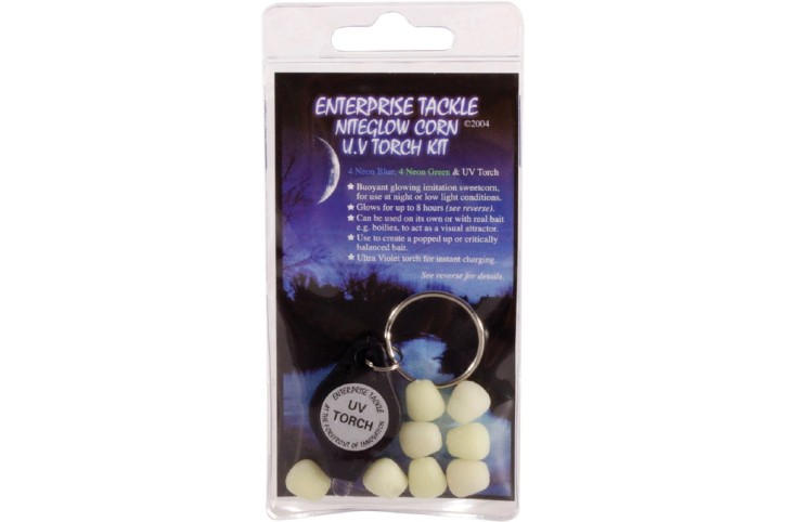 Enterprise Tackle Nightglow Corn + UV Torch