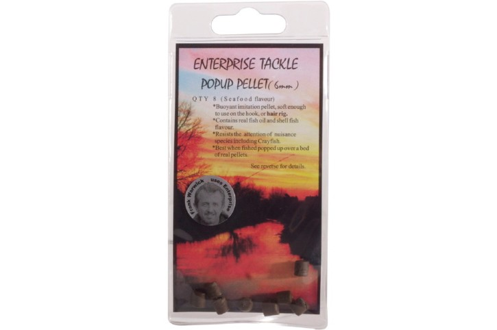 Enterprise Tackle Pop Up Pellet Seafood 6mm