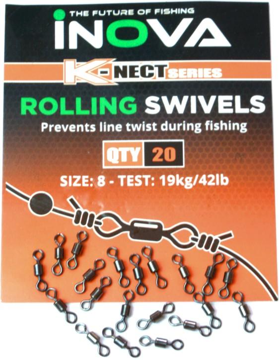 Inova Rolling Swivels Size 8