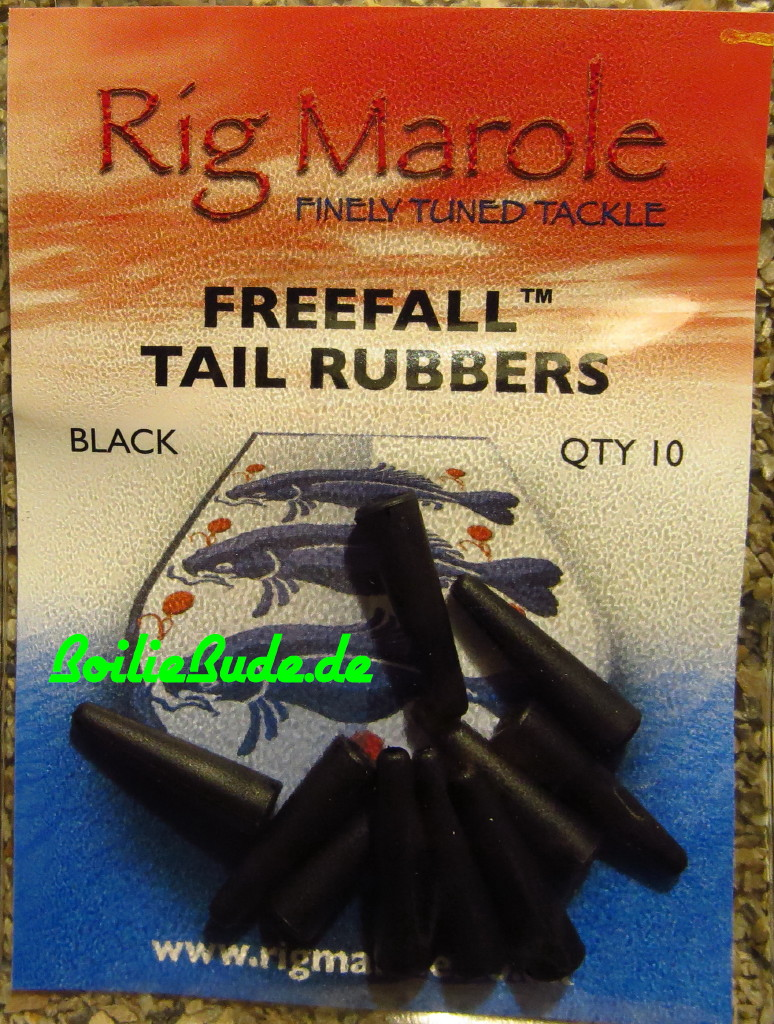 Rig Marole Free Fall Tail Rubbers Terminal ALL SIZES