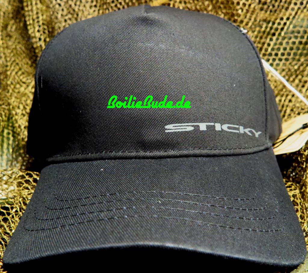 Sticky Baits Black Snapback Cap