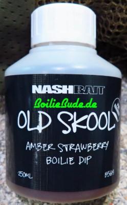 Nashbait Amber Strawberry Boilie Dip 250ml