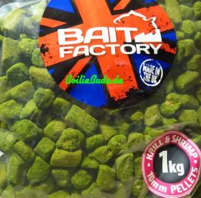 Bait Factory Rough Cutz Pellets Krill & Shrimp 10mm, 1Kg