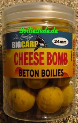 Big Carp Cheese Bomb Beton Boilies 24mm