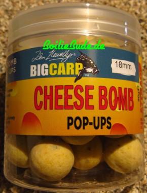 Big Carp Cheese Bomb Pop Ups 18mm