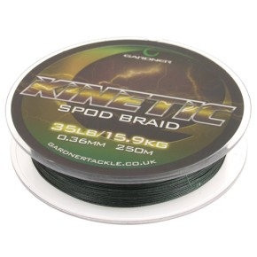 Gardner Tackle Kinetic Spod Braid 35lb , 0,36mm
