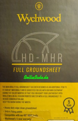 Wychwood HD MHR Brolly W/GS Groundsheet