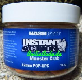 Nashbait Instant Action Monster Crab Pop Up´s 12mm, 30gr.