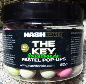 Nashbait The Key Pastel Pop Ups 12mm, 50gr.