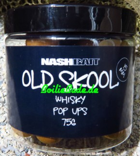 Nashbait Whisky Pop Up´s 15mm, 75gr.