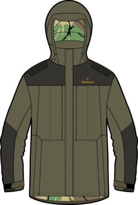 Wychwood Parka Jacket Green